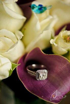 Magnifique bijoux de fiançailles