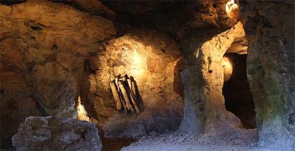 Photo des mines d'argent de Melle