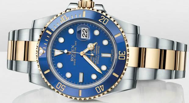 Bijoux de luxe: montre Rolex