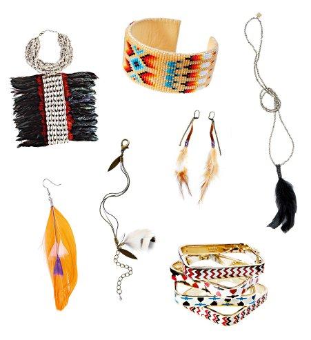un bijou ethnique à la mode